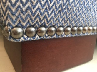 Fabric, Finish, Nail Trim